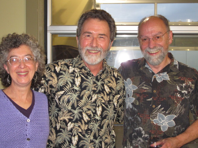 David Heard with Heather Kroll and Jim Moore
