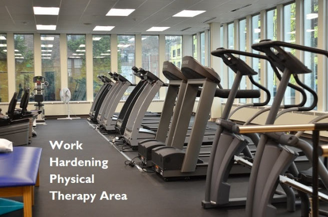 Work Hardening Physical Therapy Area